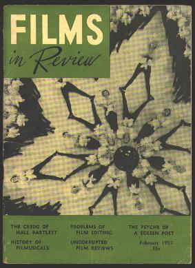 "Image for Films in Review (February 1955) [cover: still from Busby Berkeley's ""Dames""]"