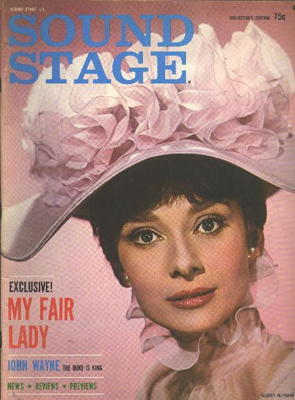 "Image for Sound Stage (issue #1, December 1964) [cover: Audrey Hepburn in ""My Fair Lady""]"