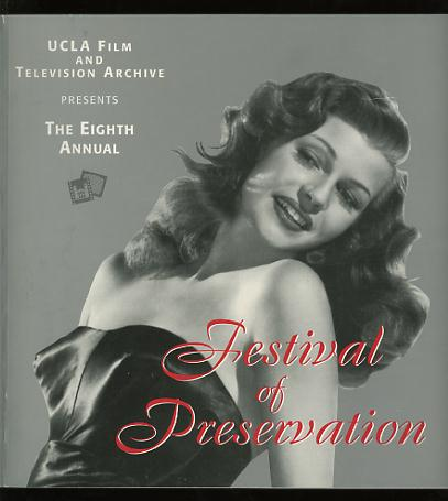 Image for The Eighth Annual Festival of Preservation / June 27 - July 20, 1996