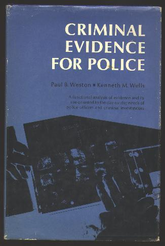 Image for Criminal Evidence for Police