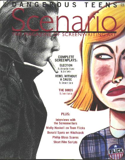 Image for Scenario: The Magazine of Screenwriting Art (1999) [includes ELECTION, REBEL WITHOUT A CAUSE and THE BIRDS]