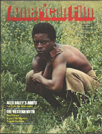 "Image for American Film: Journal of the Film and Television Arts [magazine] (October 1976) [cover: LeVar Burton in ""Roots""]"