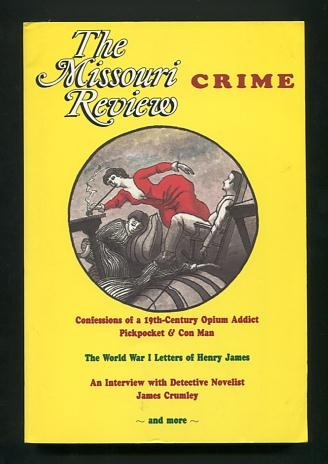 Image for The Missouri Review: Crime (Volume XVI, No. 2, 1993)