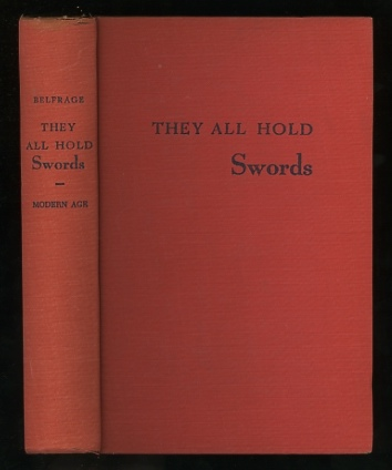 Image for They All Hold Swords