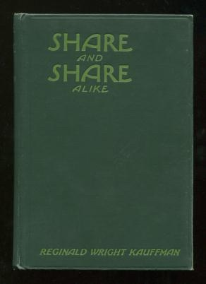 Image for Share and Share Alike: An Adventure Story