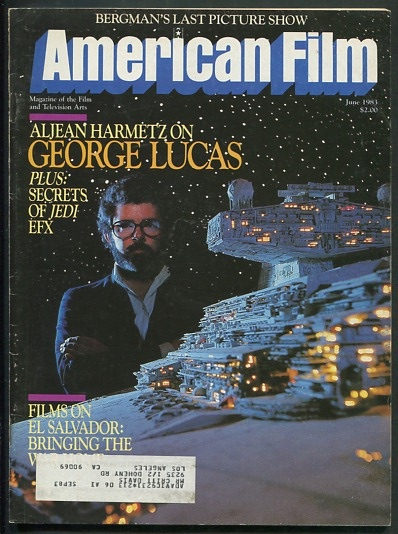 Image for American Film [magazine] (June 1983) [cover: George Lucas]