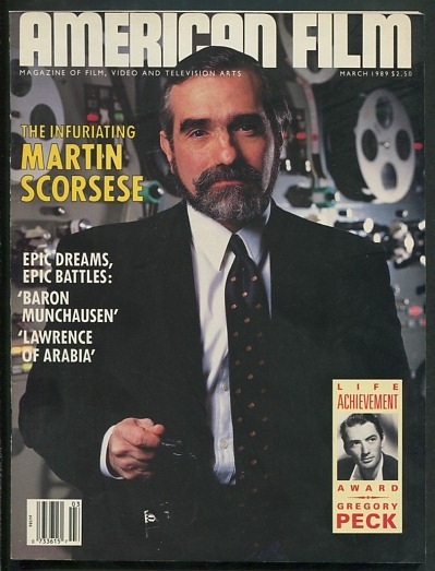 Image for American Film [magazine] (March 1989) [cover: Martin Scorsese]