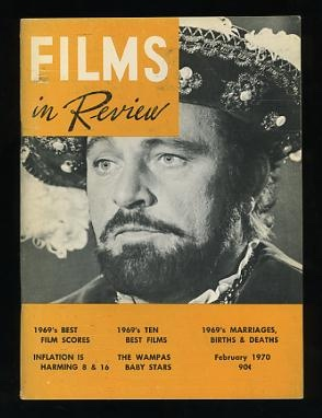 Image for Films in Review (February 1970) [cover: Richard Burton in ANNE OF A THOUSAND DAYS]