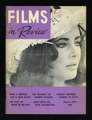 Image for Films in Review (March 1970) [cover: Elizabeth Taylor in THE ONLY GAME IN TOWN]