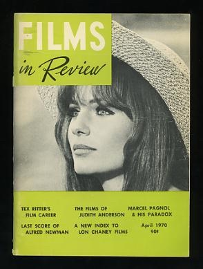 Image for Films in Review (April 1970) [cover: Jacqueline Bisset in THE GRASSHOPPER]
