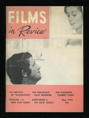 Image for Films in Review (May 1970) [cover: Catherine Deneuve and Jean-Paul Belmondo in MISSISSIPPI MERMAID]