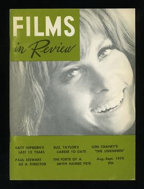 Image for Films in Review (August-September 1970) [cover: Stefanie Powers in THE BOATNIKS]