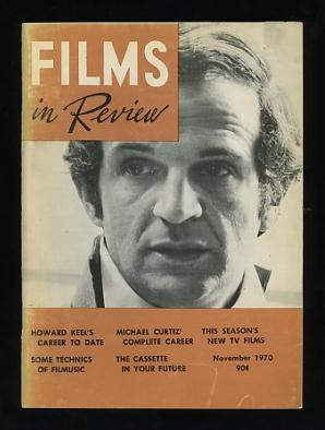 Image for Films in Review (November 1970) [cover: Francois Truffaut in THE WILD CHILD]