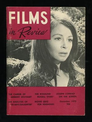 Image for Films in Review (December 1970) [cover: Sarah Miles in RYAN'S DAUGHTER]