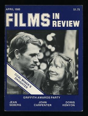 Image for Films in Review (April 1980) [cover: Sissy Spacek and Tommy Lee Jones in COAL MINER'S DAUGHTER]