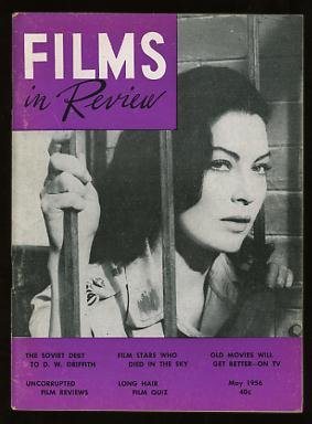 Image for Films in Review (May 1956) [cover: Ava Gardner in BHOWANI JUNCTION]