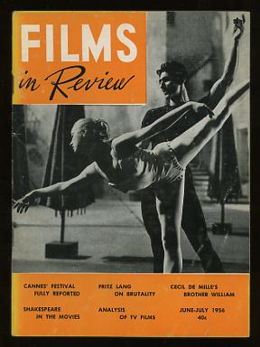 Image for Films in Review (June-July 1956) [cover: Claire Sambert and Igor Youskevitch in INVITATION TO THE DANCE]