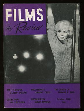 Image for Films in Review (October 1960) [cover: Marilyn Monroe in LET'S MAKE LOVE]