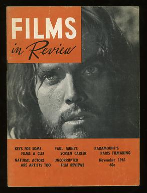 Image for Films in Review (November 1961) [cover: Jeffrey Hunter in KING OF KINGS]