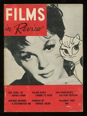 Image for Films in Review (December 1962) [cover: Judy Garland and the animated character she voiced in GAY PURR-EE]