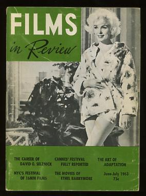 Image for Films in Review (June-July 1963) [cover: Marilyn Monroe in the aborted SOMETHING'S GOT TO GIVE]
