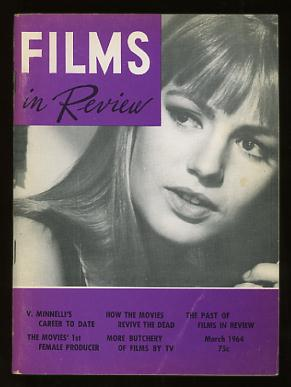 Image for Films in Review (March 1964) [cover: Catherine Spaak in THE EMPTY CANVAS]