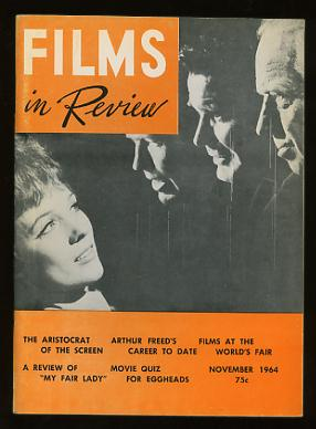Image for Films in Review (November 1964) [cover: Andrews, Coburn, Garner, and Douglas in THE AMERICANIZATION OF EMILY]