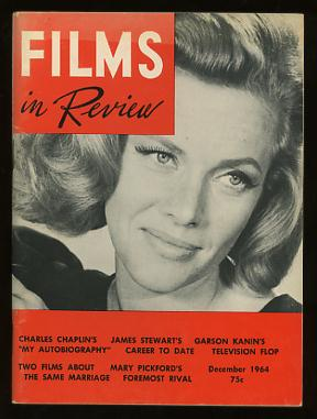 Image for Films in Review (December 1964) [cover: Honor Blackman in GOLDFINGER]