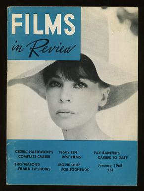 Image for Films in Review (January 1965) [cover: Leslie Caron in FATHER GOOSE]