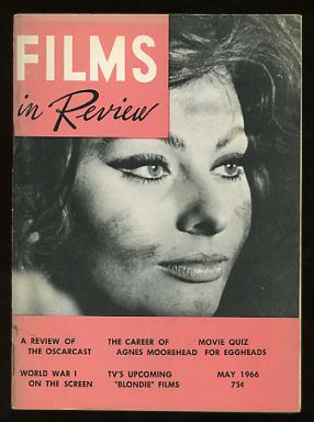 Image for Films in Review (May 1966) [cover: Sophia Loren in ARABESQUE]