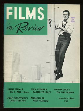 Image for Films in Review (June-July 1966) [cover: Sean Connery in A FINE MADNESS]