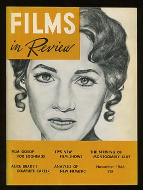 Image for Films in Review (November 1966) [cover: Julie Andrews in HAWAII]