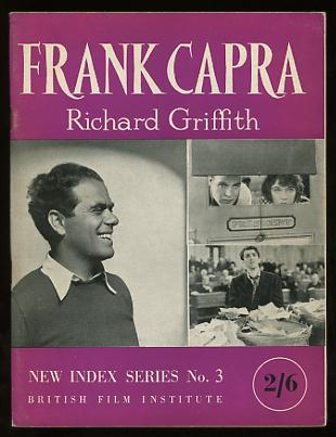 Image for Frank Capra (New Index Series No. 3)