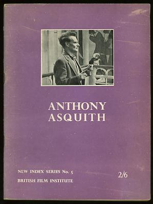 Image for Anthony Asquith (New Index Series No. 5)