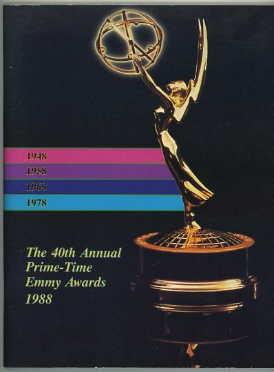 Image for The 40th Annual Prime-Time Emmy Awards 1988 [program]