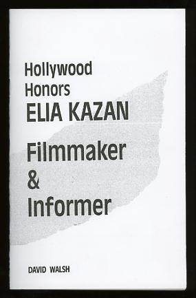 Image for Hollywood Honors Elia Kazan, Filmmaker & Informer