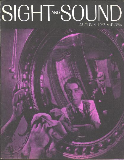 Image for Sight and Sound (Autumn 1963) [cover: Dirk Bogarde and James Fox in THE SERVANT]