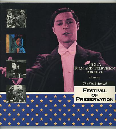 Image for The Sixth Annual Festival of Preservation / April 7 - May 1, 1994