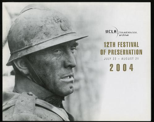 Image for The 12th Festival of Preservation / July 22 - August 21, 2004