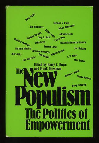 Image for The New Populism: The Politics of Empowerment