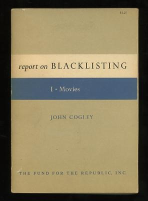 Image for Report on Blacklisting - I - Movies