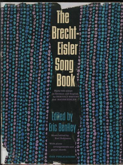 Image for The Brecht-Eisler Song Book