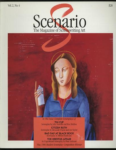 Image for Scenario: The Magazine of Screenwriting Art (Winter 1996) [includes BAD DAY AT BLACK ROCK]
