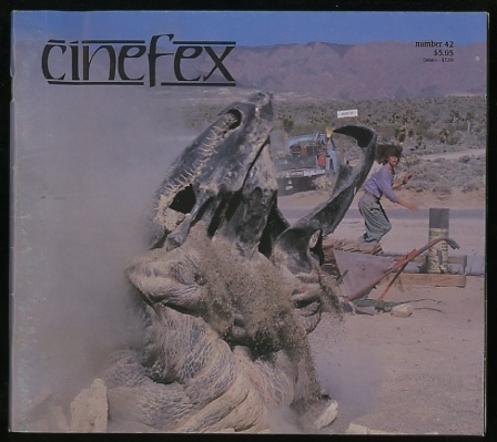 Image for Cinefex...the journal of cinematic illusions [issue 42, May 1990]