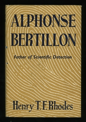 Image for Alphonse Bertillon: Father of Scientific Detection
