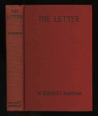Image for The Letter; originally published under the title The Casuarina Tree: Six Stories [Photoplay Edition]