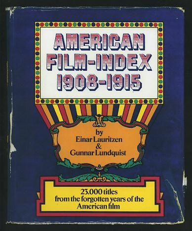 Image for American Film-Index 1908-1915