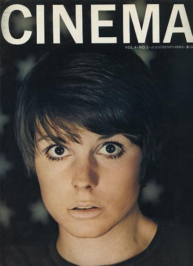 Image for Cinema [magazine] (Summer 1968) [cover: Susan St. James]