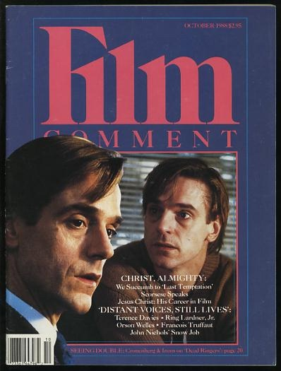 Image for Film Comment (September-October 1988) [cover: Jeremy Irons in DEAD RINGERS]
