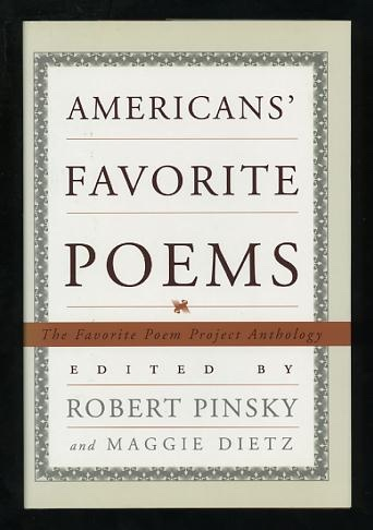 Image for Americans' Favorite Poems: The Favorite Poem Project Anthology